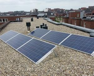 Plat dak Flat-fix systeem